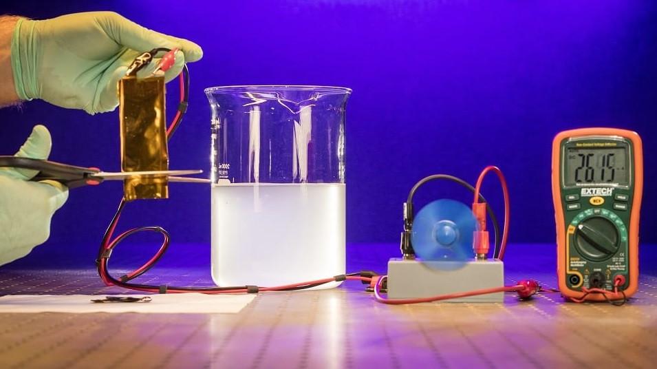 ساخت باتری لیتیومی منعطف