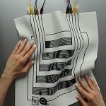 ساخت منسوجات الکترونیکی رسانا چاپشده با جوهرافشان